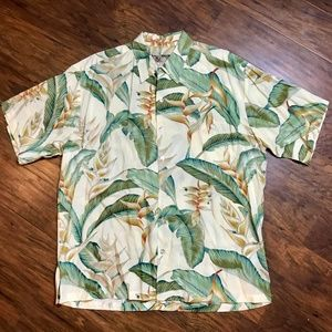 Tori Richard HAWAIIAN Men's Camp Shirt size LARGE